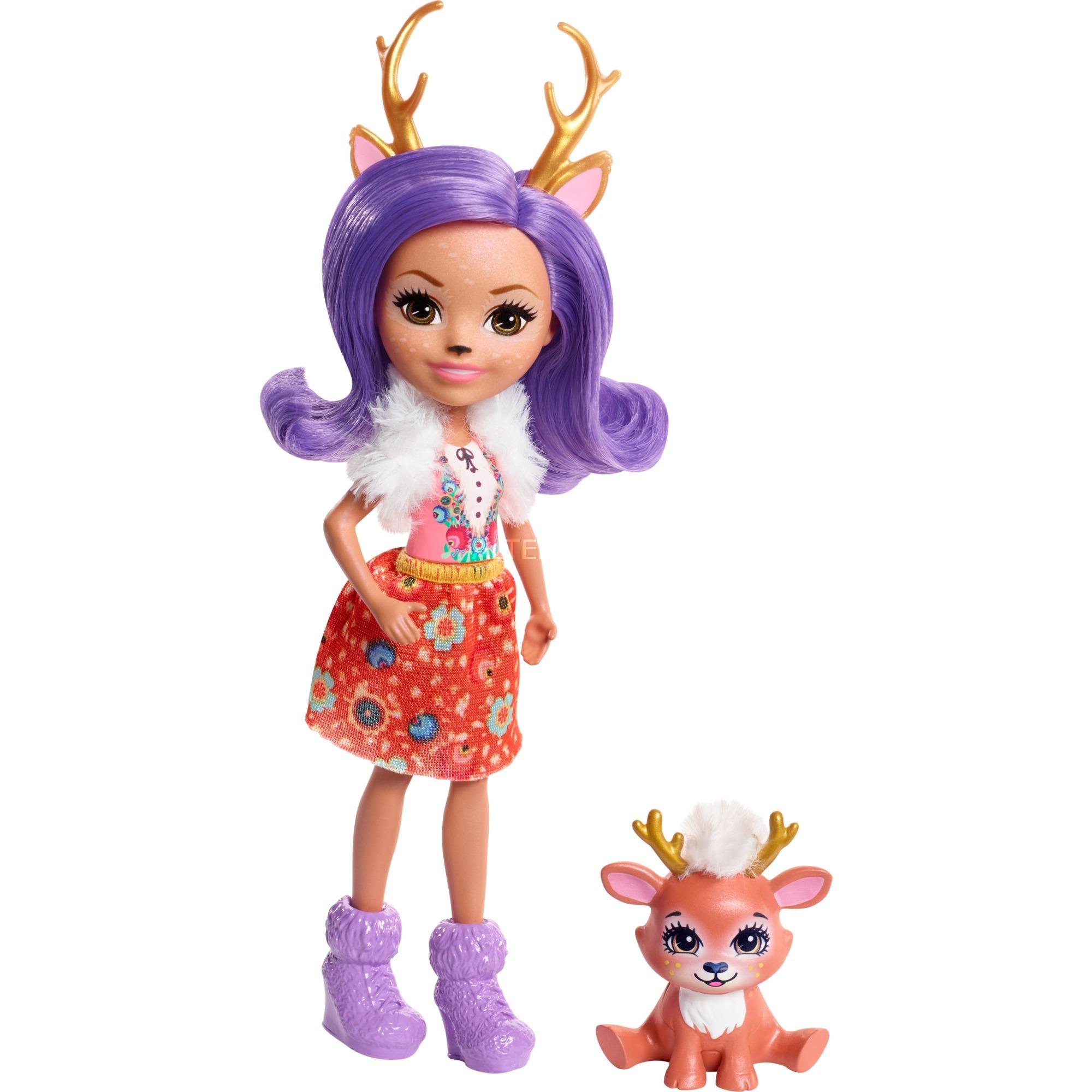 Enchantimals - Danessa Deer - Muñeca y Mascota