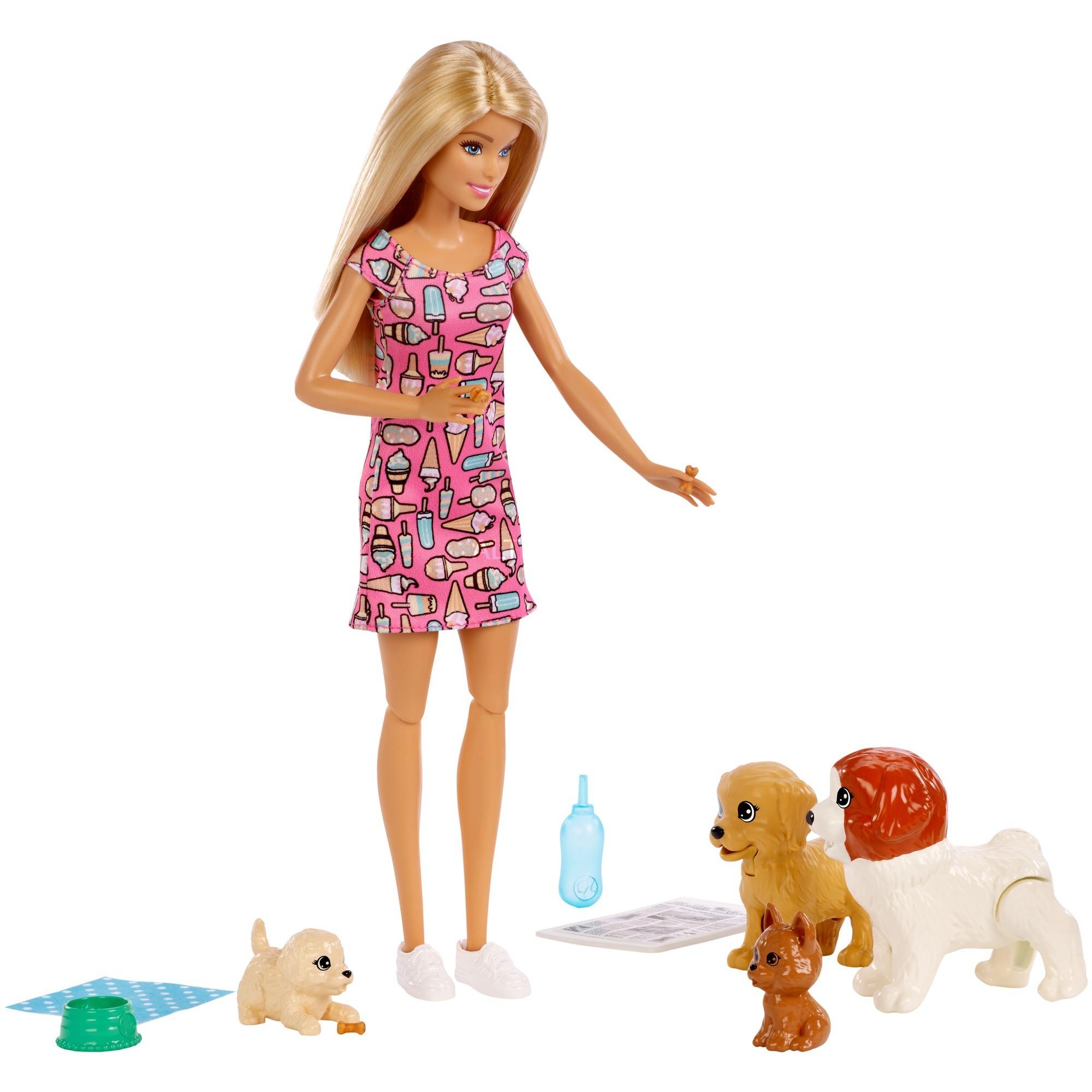 Barbie - Barbie y su Guardería de Perritos