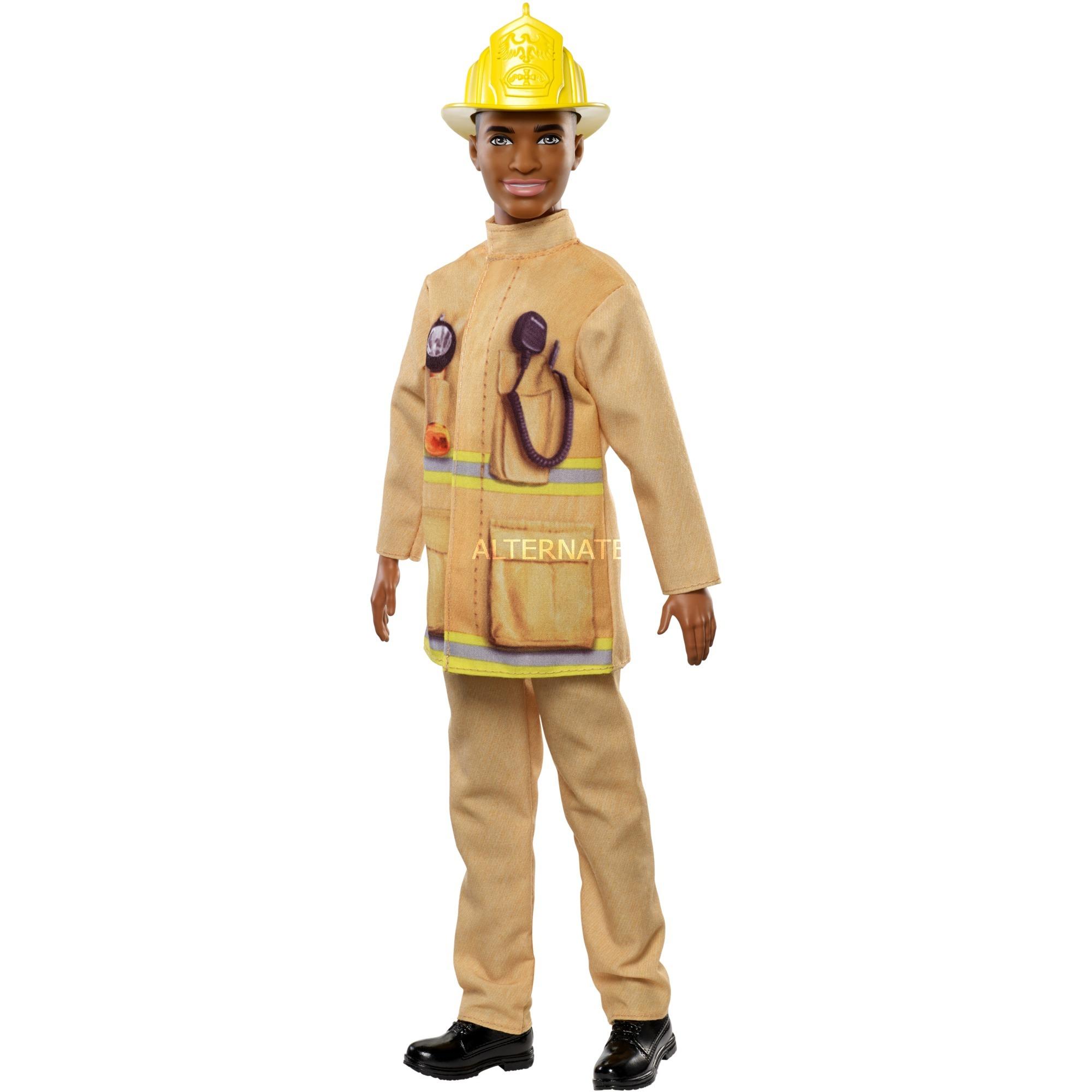 Barbie - Ken Bombero - Muñeco Yo quiero Ser con Accesorios