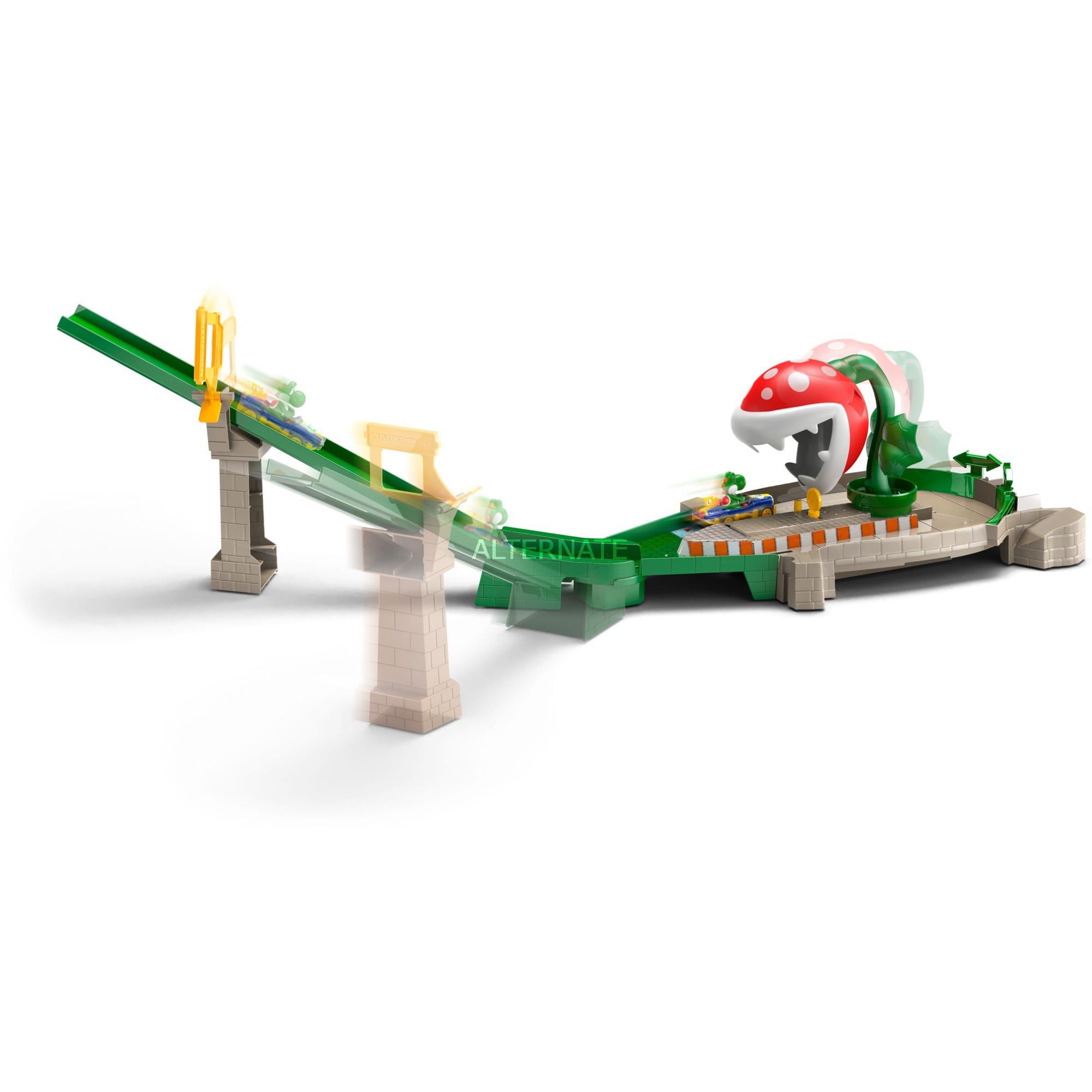 GFY47 pista para vehículos de juguete, Pistas de carreras (Hot Wheels, Multicolor, Niño, 3 año(s), Interior, Caja)