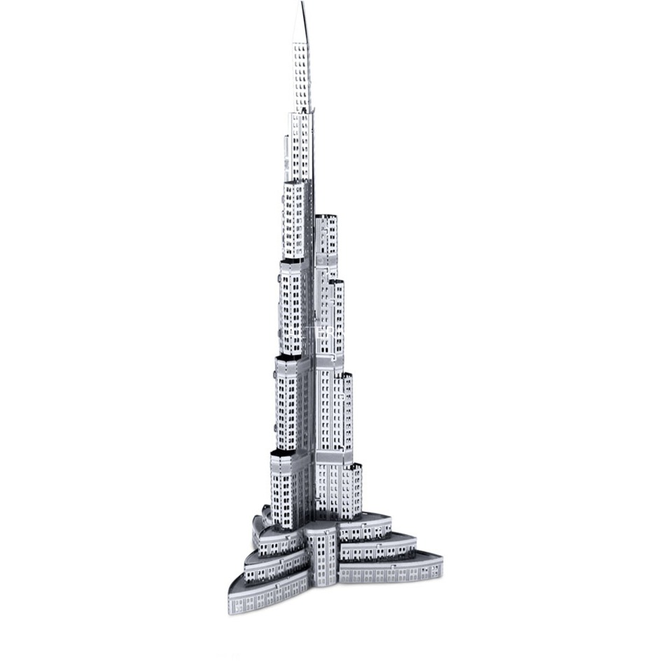 Burj Khalifa, Contrucciones