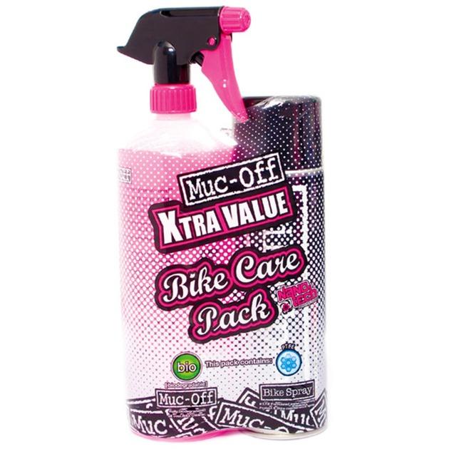 Bike Care Duo Kit limpiador y desengrasante para bicicletas, Productos de limpieza