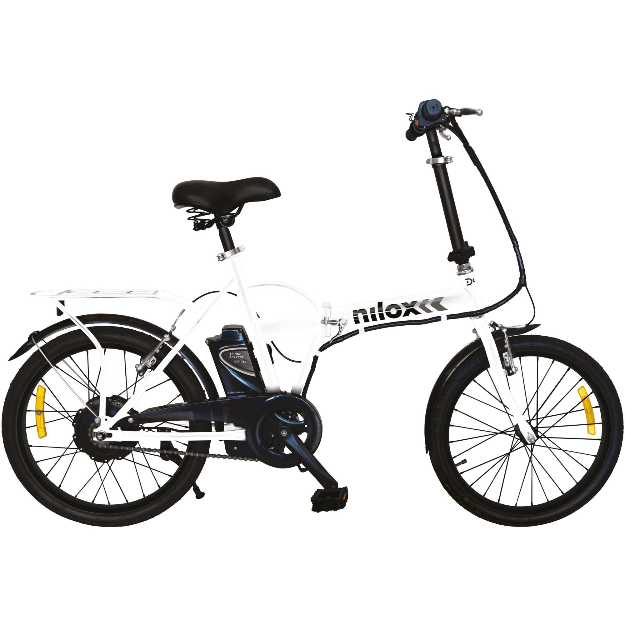 "DOC E-BIKE X1 Blanco Acero 20"" 20000g"