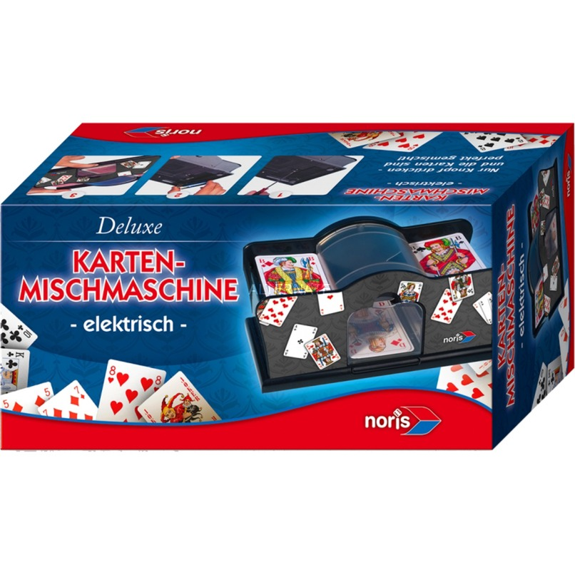 606154621 accesorio para juegos de cartas Card shuffler Negro, Máquina de mezclar