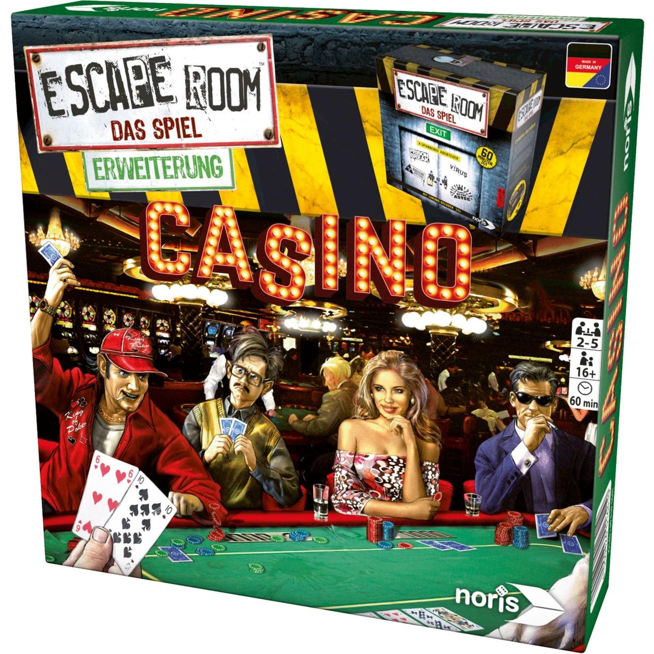 Escape Room Casino Niños y adultos Juego de apuestas, Juegos de fiestas