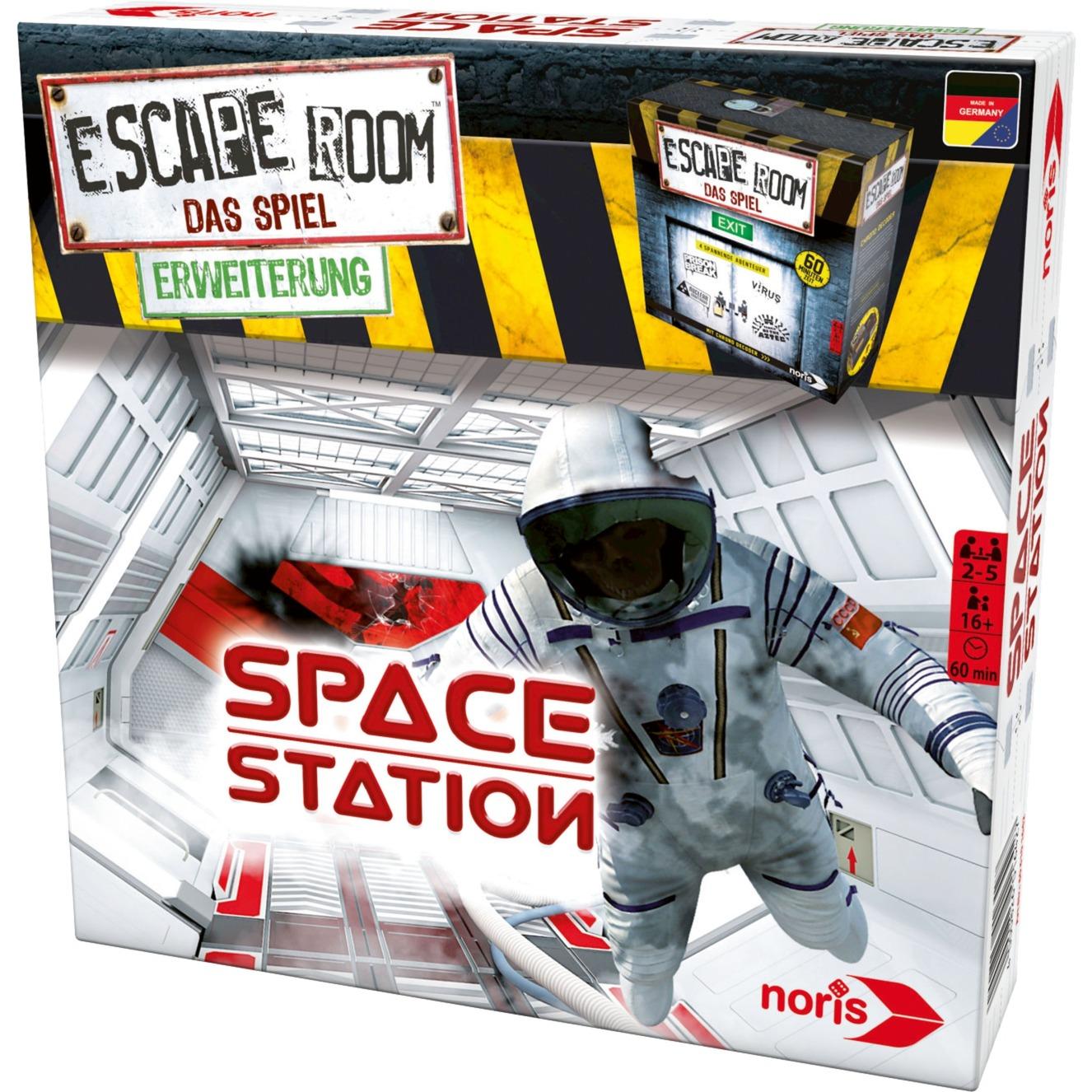 Escape Room Space Station Viajes/aventuras Niños y adultos, Juegos de fiestas