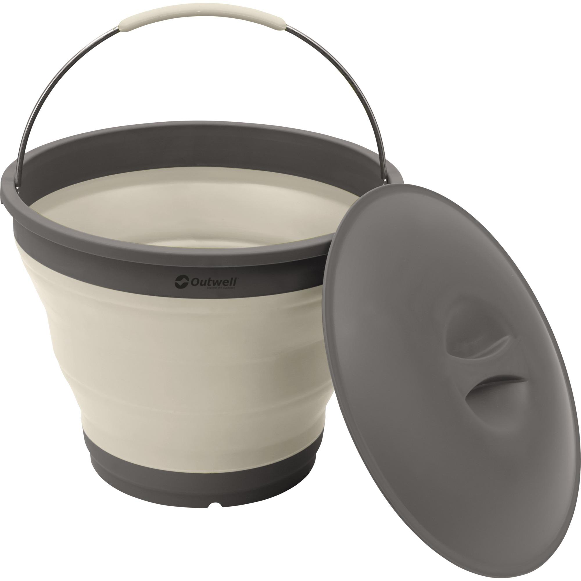 650613 caja de almacenaje Blanco Alrededor De plástico, Elastómero termoplástico (TPE), Cubo