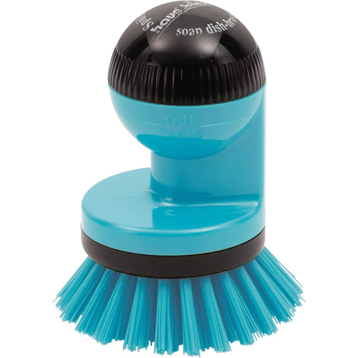 Dishwasher Brush Blue De plástico Negro, Azul, Cepillo