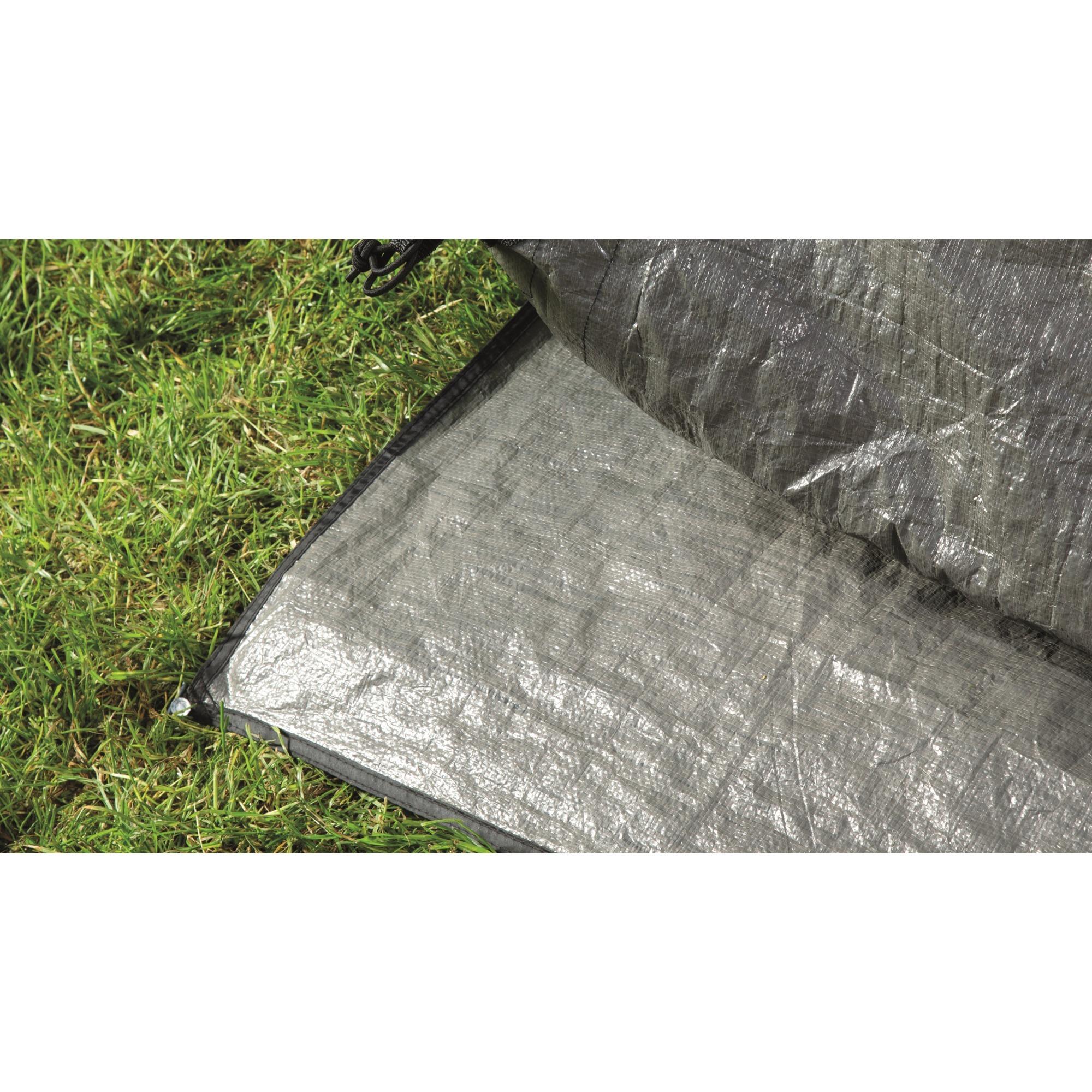 Rockwell 3 Protector de suelo Polietileno Plata 1pieza(s), Bandeja