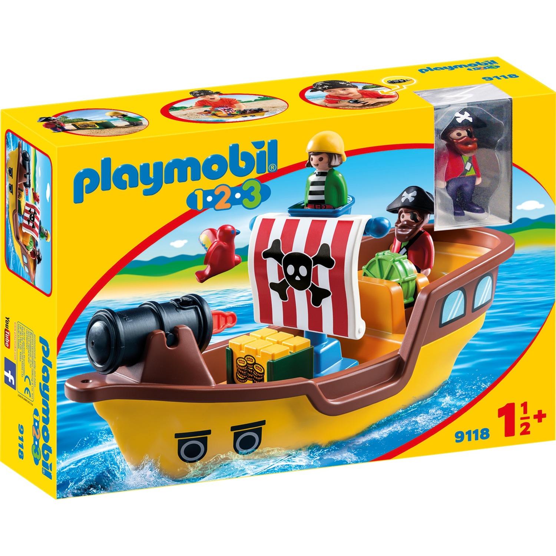 1.2.3 9118 Barco pirata, Juegos de construcción
