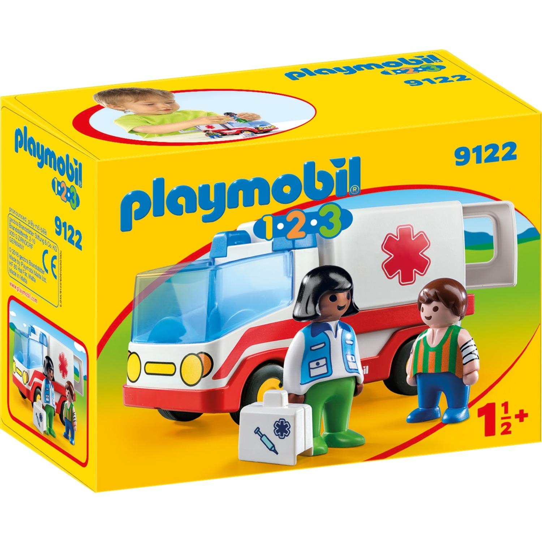 1.2.3 9122 Ambulancia, Juegos de construcción