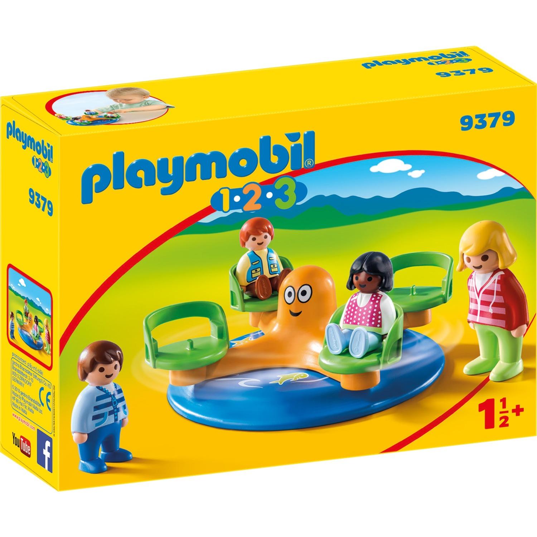 1.2.3 9379 Tiovivo de niños, Juegos de construcción