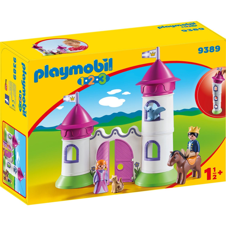 1.2.3 9389 Castillo con torre, Juegos de construcción