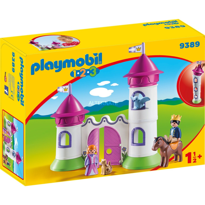 1.2.3 9389 Castillo set de juguetes, Juegos de construcción