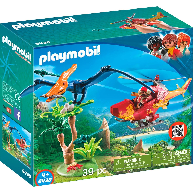 Playmobil - Helicóptero con Pterosaurio - 9430