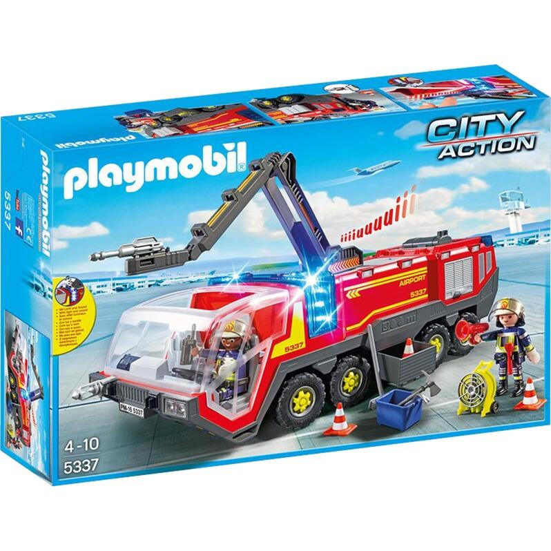 Playmobil - Camión Bomberos Aeropuerto - 5337
