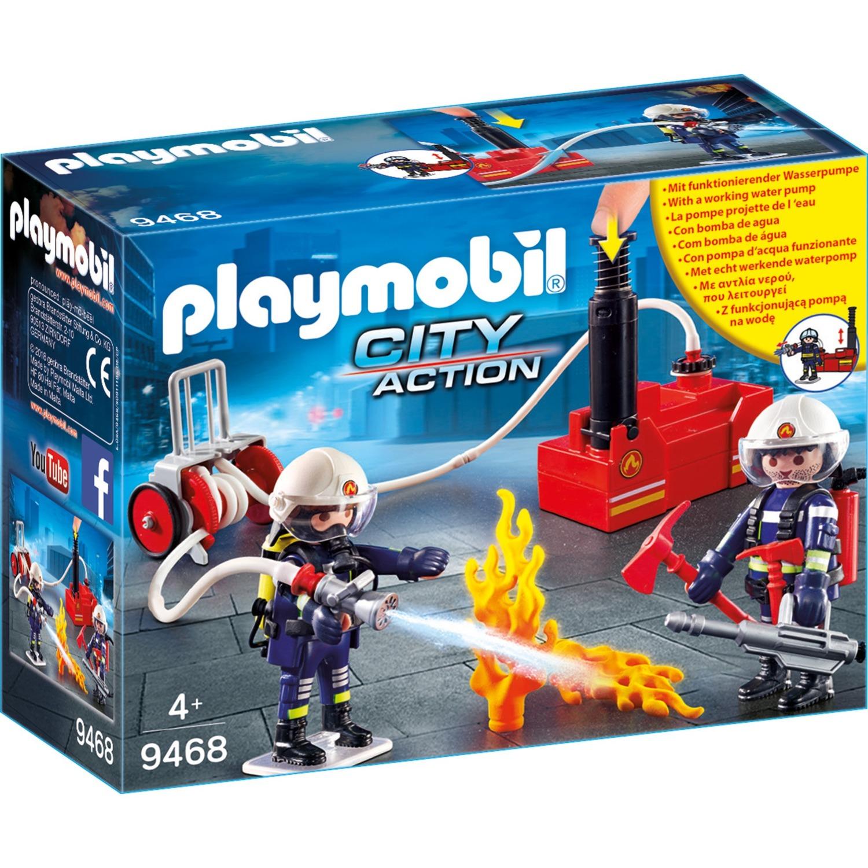 Playmobil - Bomberos con Bomba de Agua - 9468