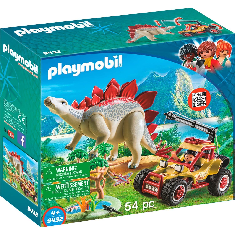 Playmobil - Vehículo Explorador con Estegosaurio - 9432