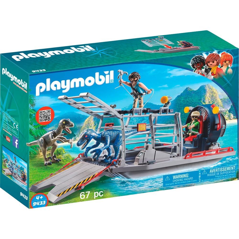 Playmobil - Hidrodeslizador con Jaula - 9433