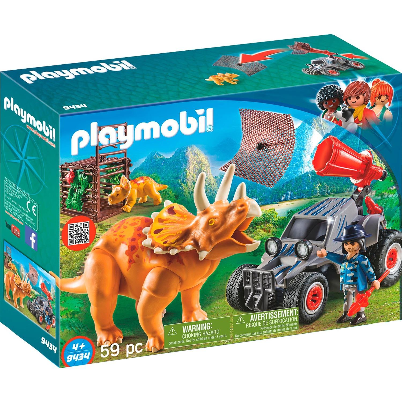 Playmobil - Coche con Triceratops - 9434
