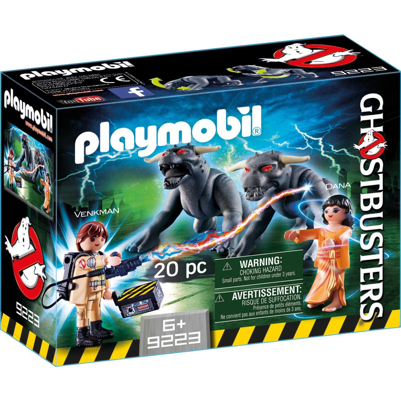 Playmobil - Ghostbusters Venkman, Dana y Perros de Gozer - 9223