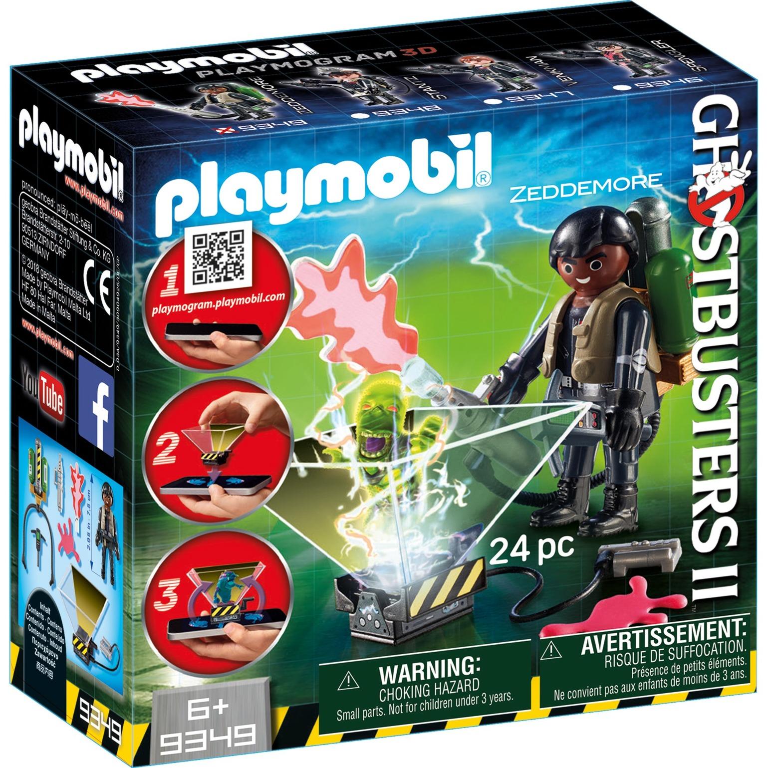 Playmobil - Cazafantasmas Winston Zeddemore - 9349