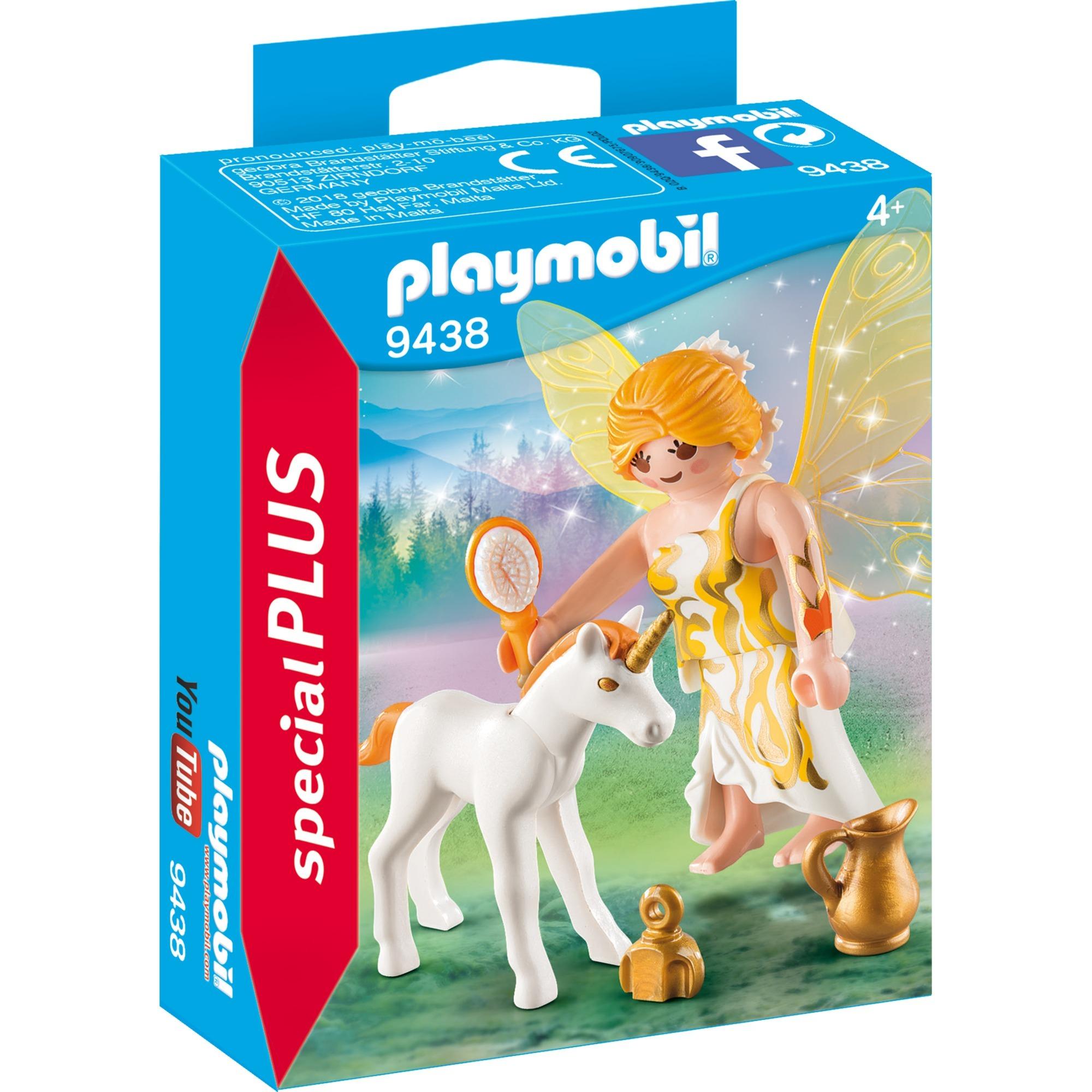 Playmobil Specialplus 9438 Hada De Sol Con Bebe De Unicornio Juegos
