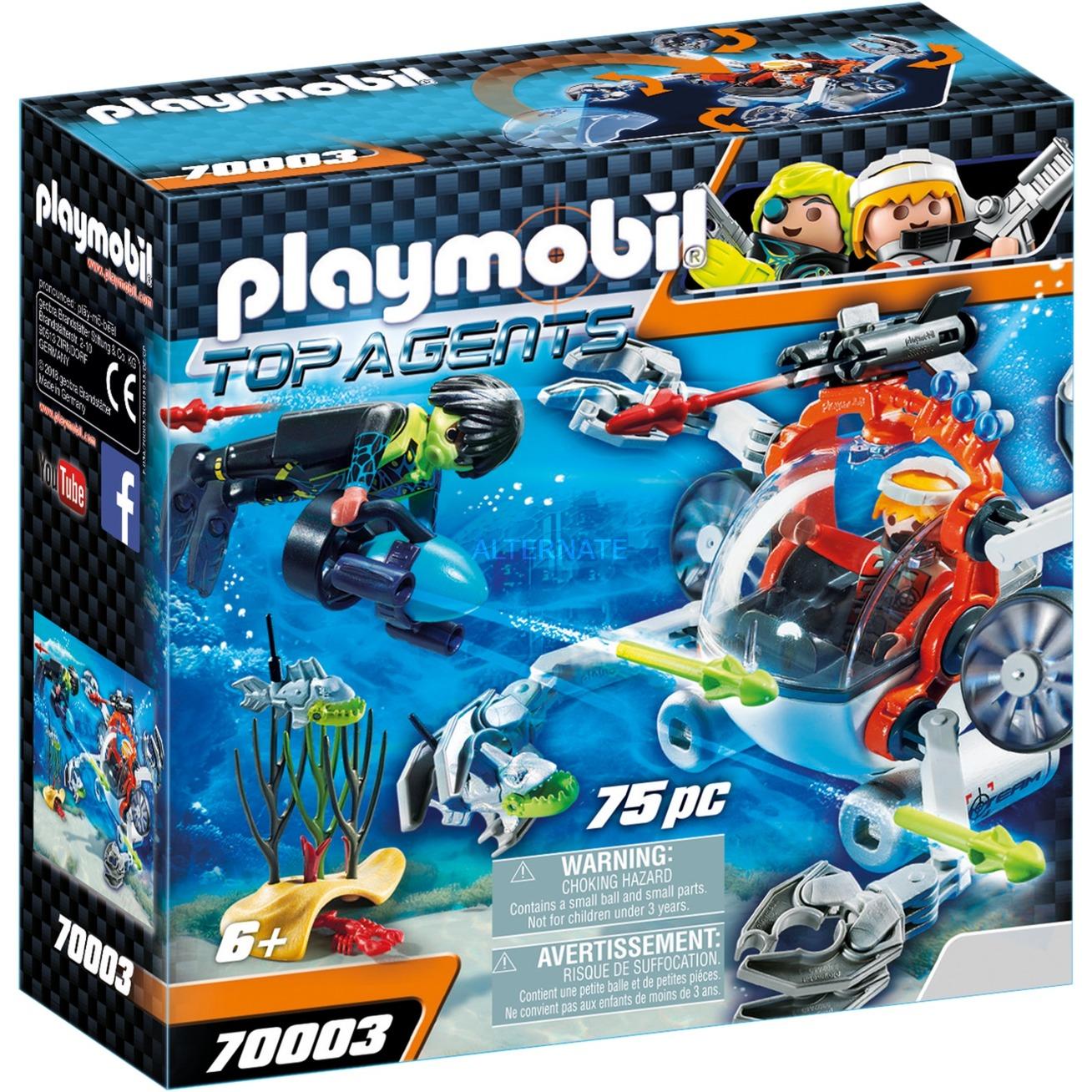 Top Agents SPY TEAM Sub Bot, Juegos de construcción
