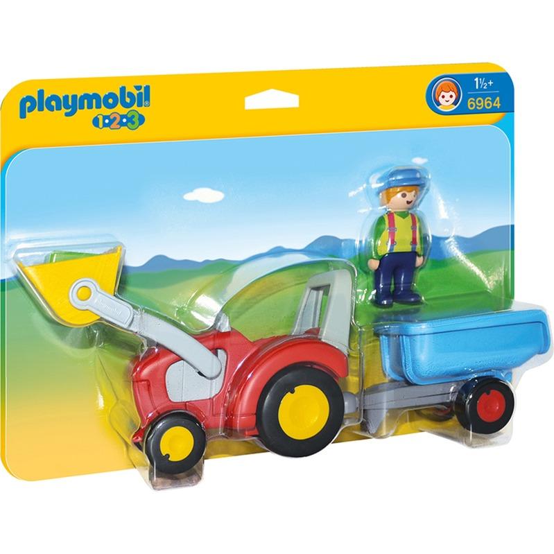 Tractor de remolque, Juegos de construcción