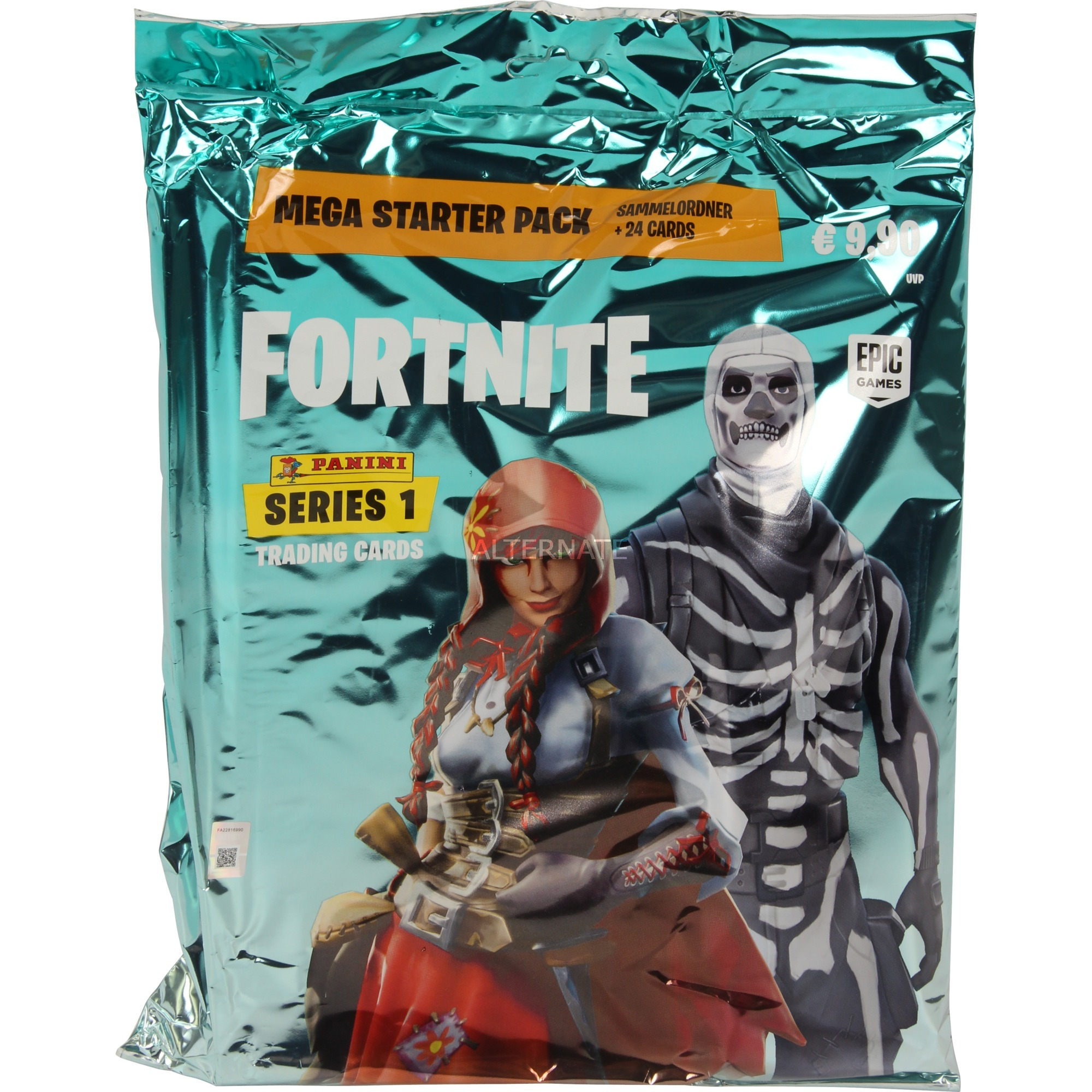 Fortnite Trading Cards - Starter Set, Cartas coleccionables