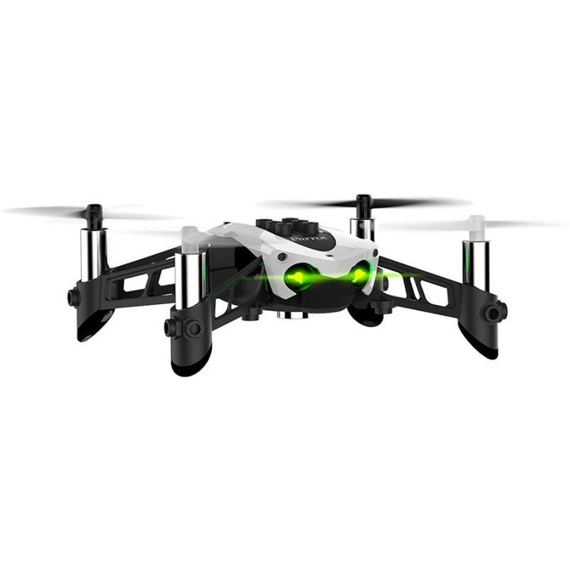 Mambo 4rotors 0.3MP 550mAh Negro, Color blanco dron con cámara, avión por control remoto