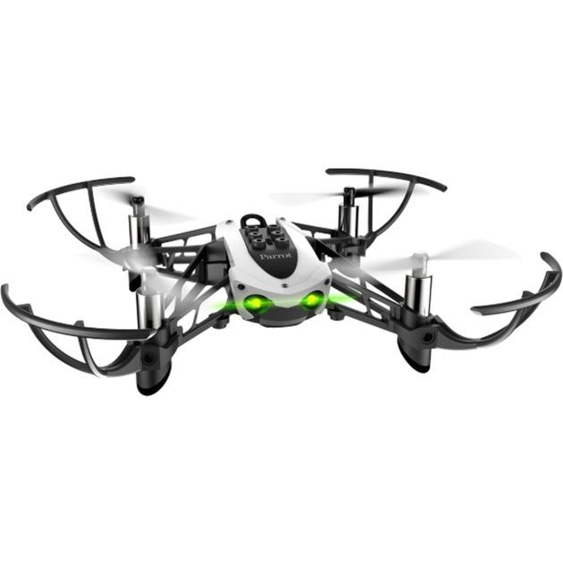 Mambo Fly dron con cámara Cuadricóptero Negro, Blanco 4 rotores 550 mAh, avión por control remoto