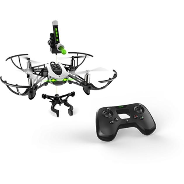 Mambo Mission dron con cámara Minidrón Negro, Blanco 4 rotores 660 mAh, avión por control remoto