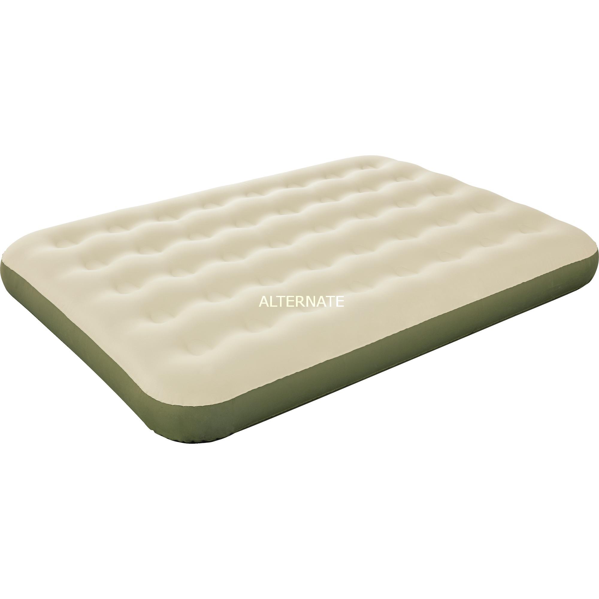 69022 colchón hinchable Colchón doble Beige, Verde Niño/niña, Cama de aire