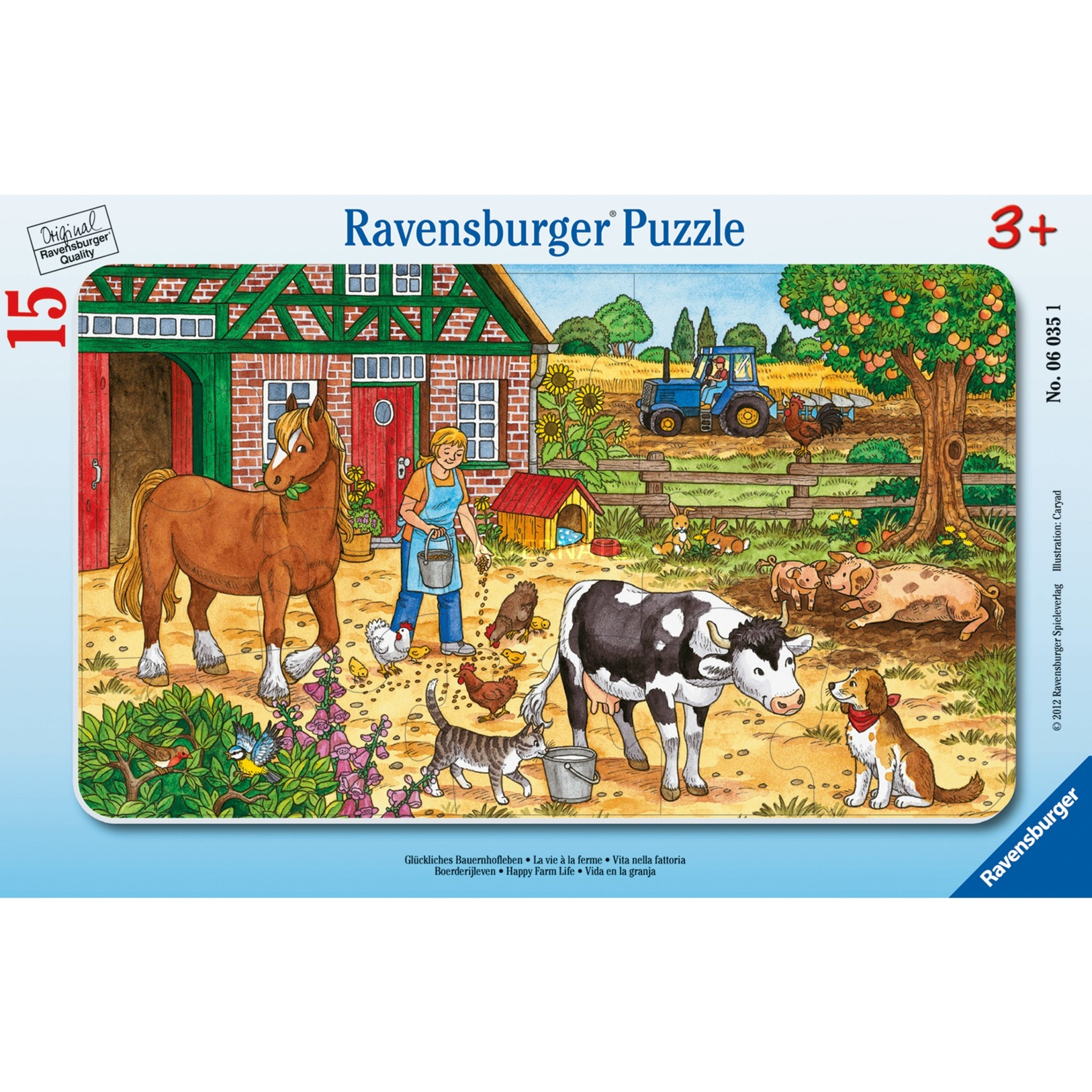 00.006.035 15pieza(s) rompecabeza, Puzzle