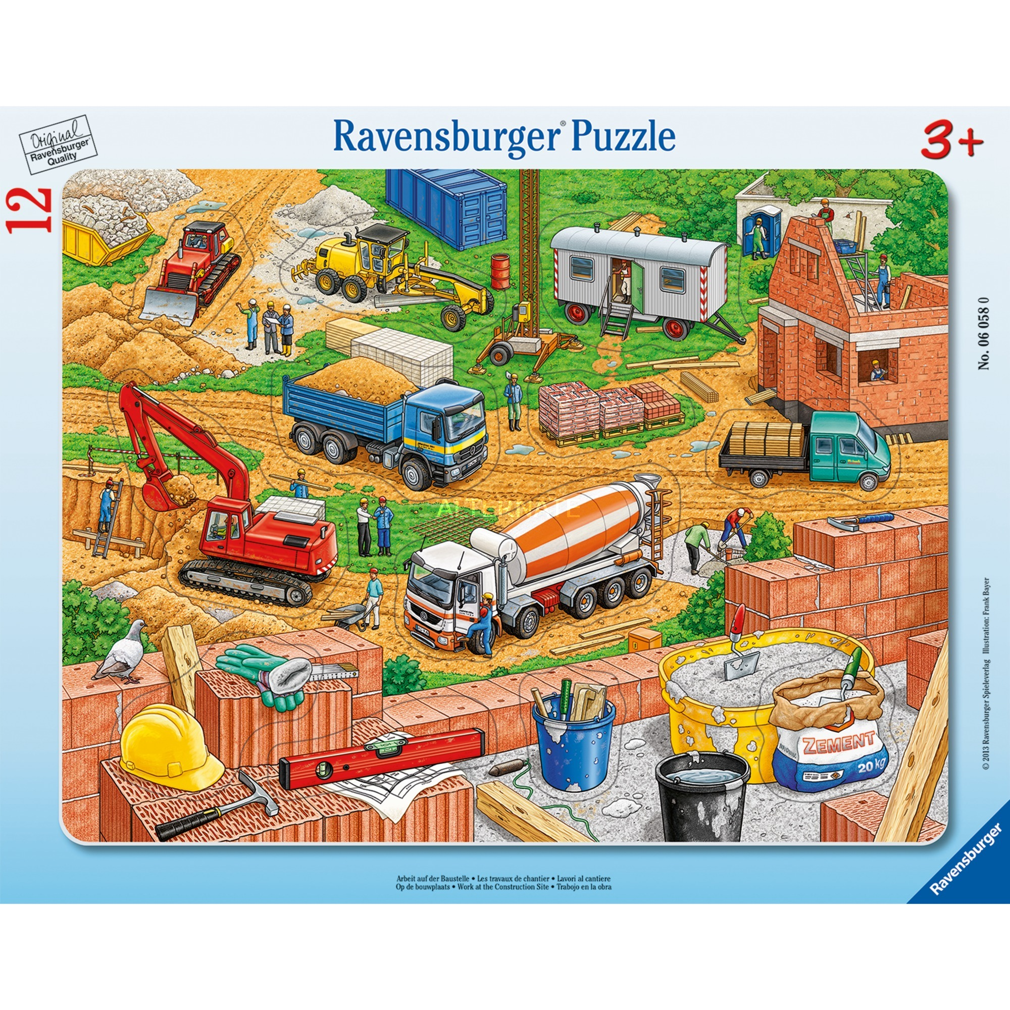 00.006.058 puzzle 12 pieza(s)