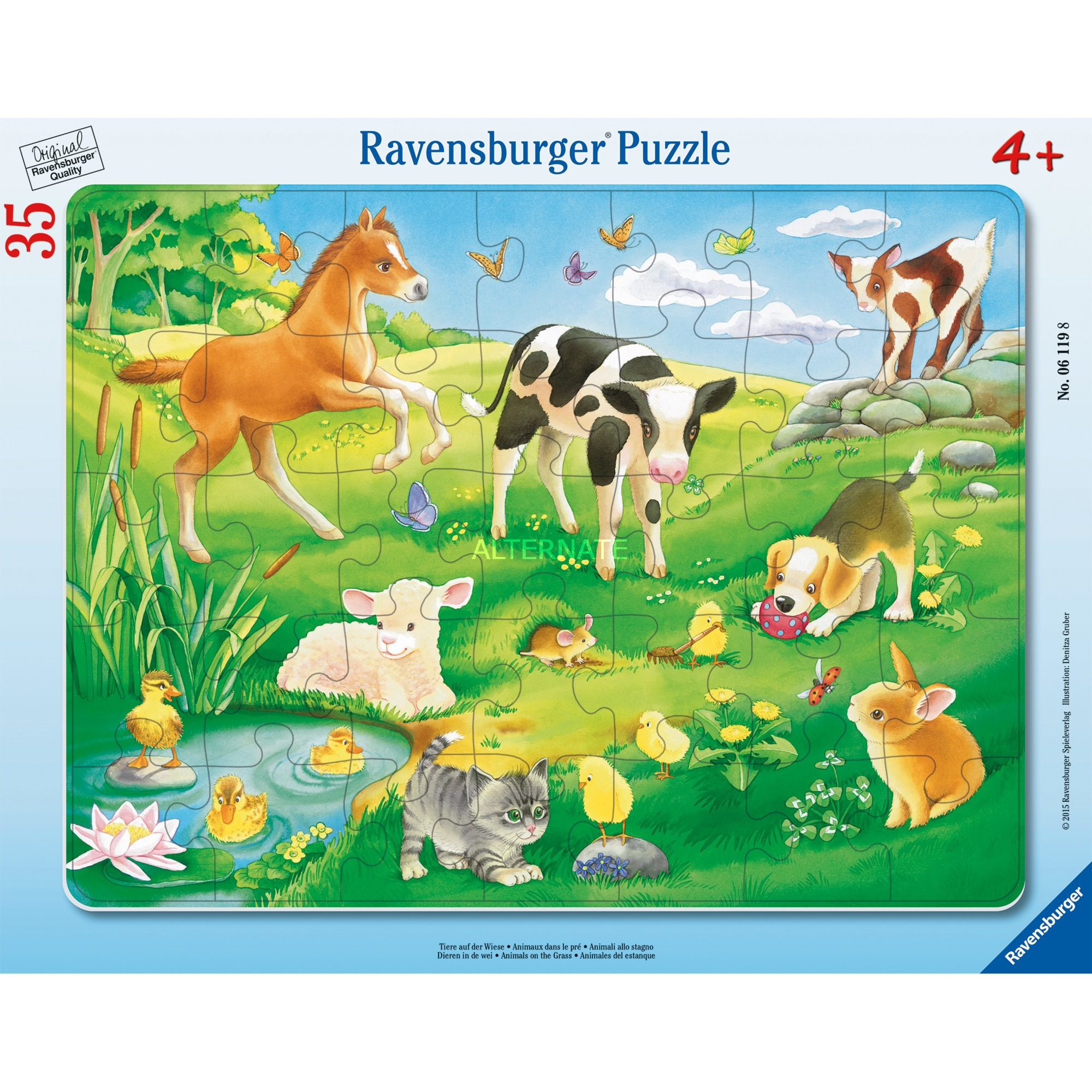 00.006.119 35pieza(s) puzzle