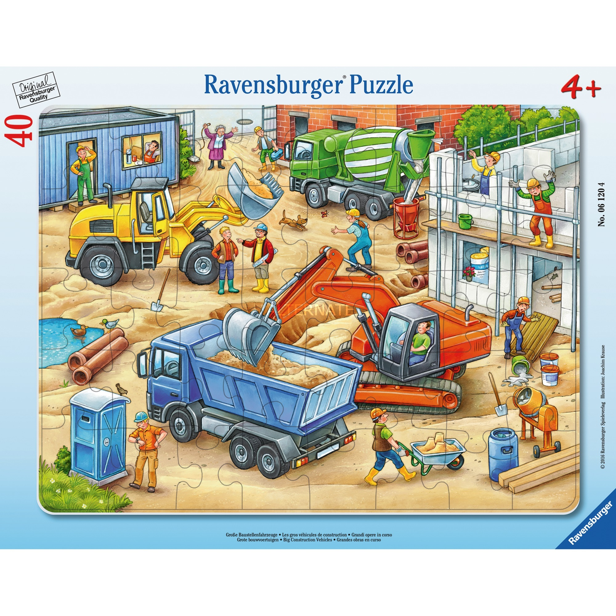 00.006.120 puzzle 40 pieza(s)