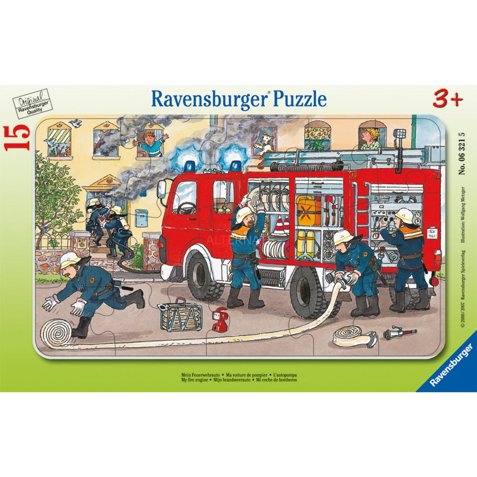00.006.321 15pieza(s) rompecabeza, Puzzle