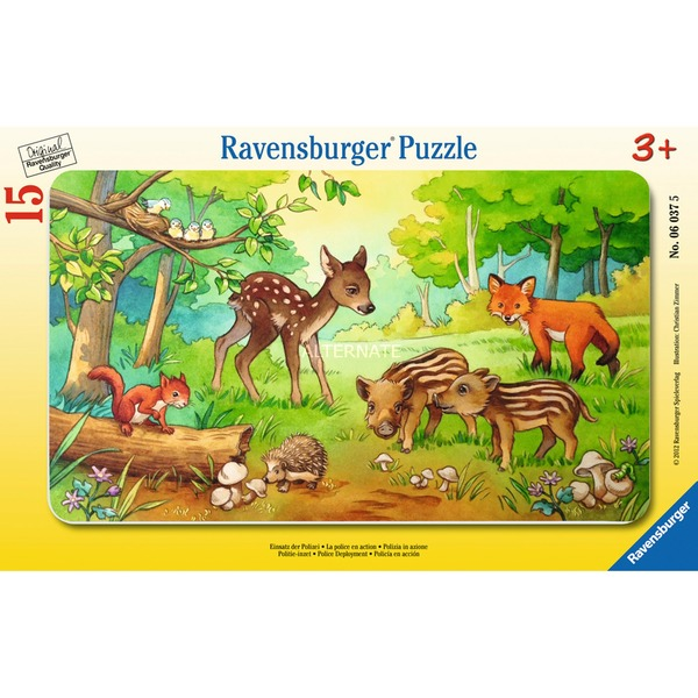00.006.376 15pieza(s) rompecabeza, Puzzle