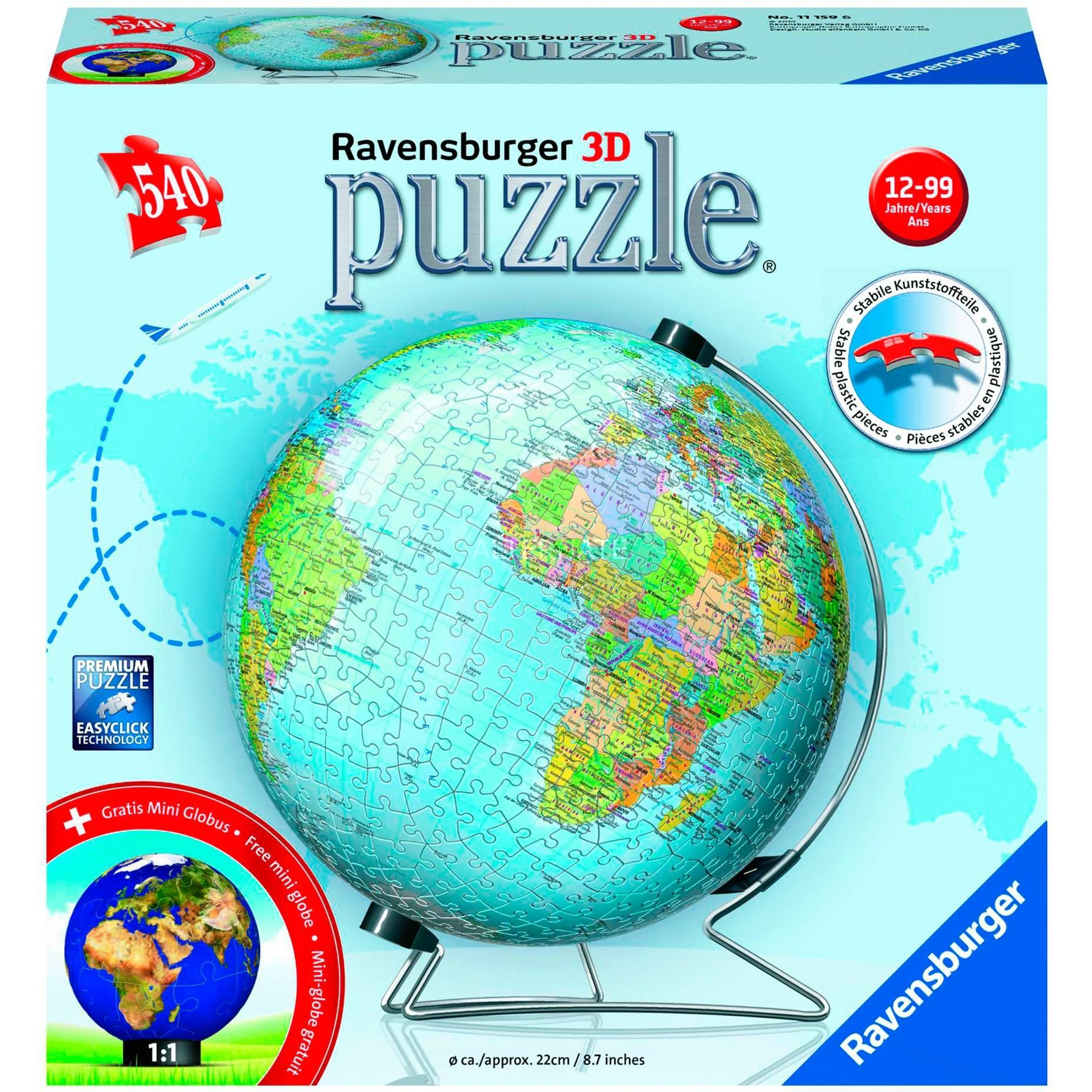 00.011.159 puzle 3D, Puzzle