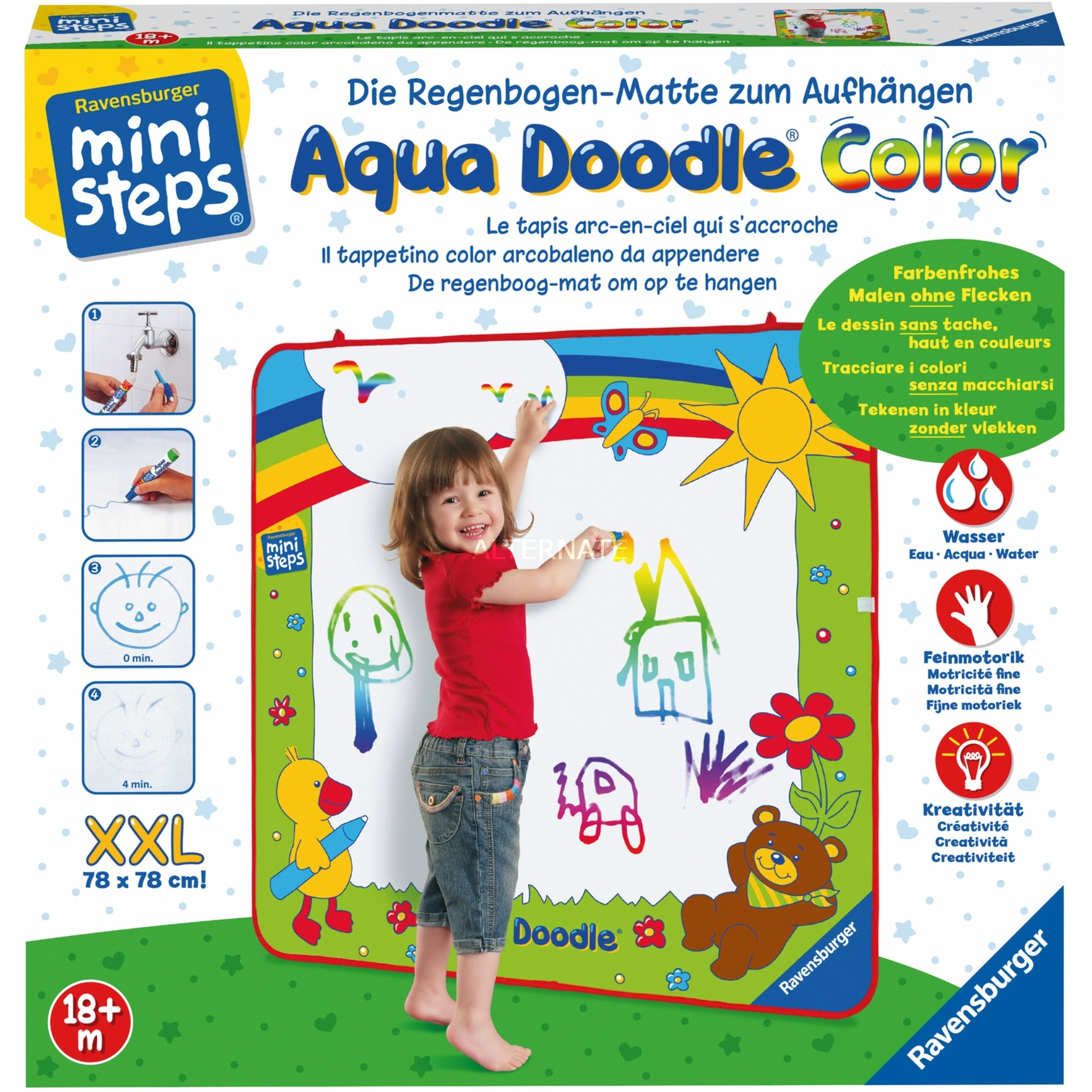 04545 Juguetes de pintura con agua para niños