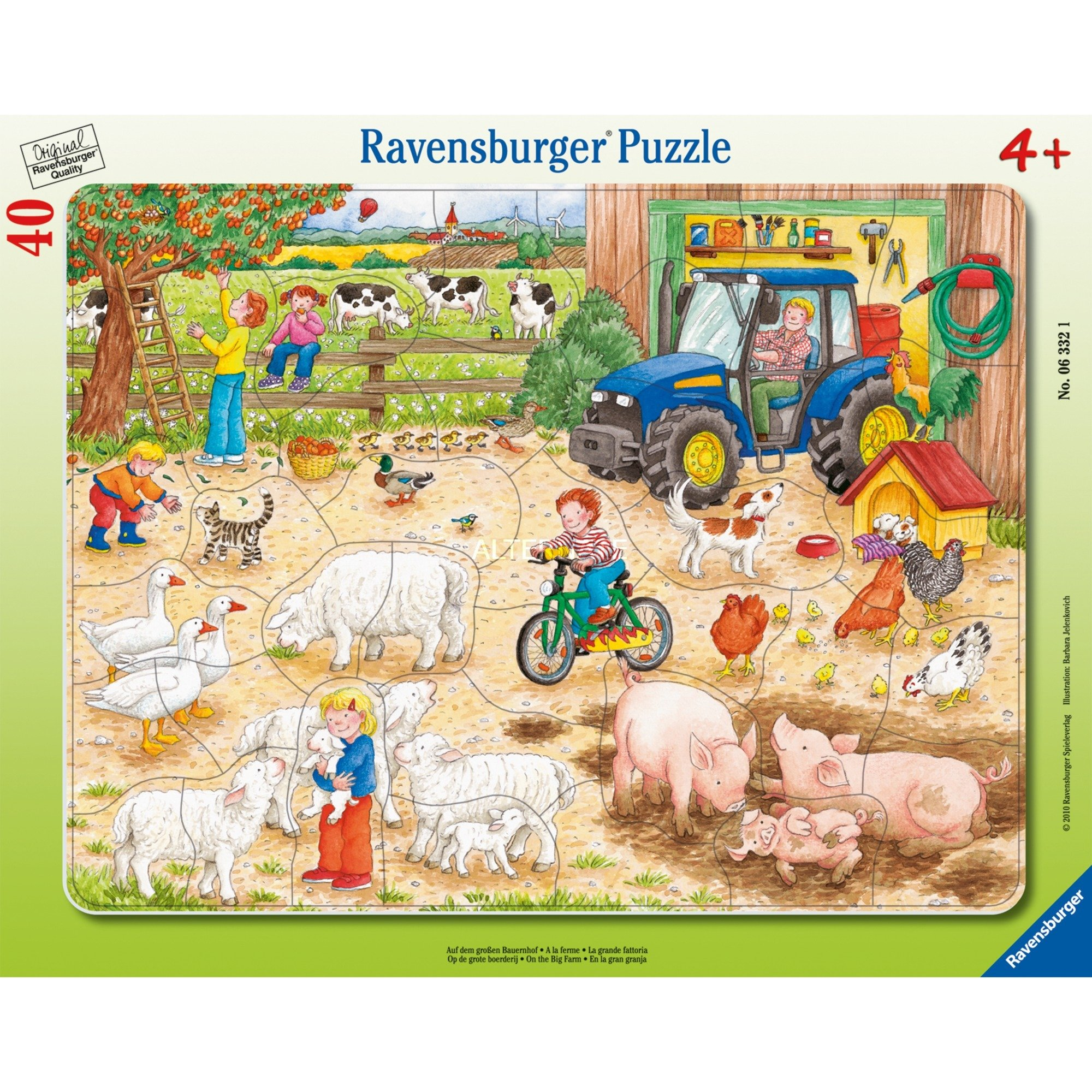 063321 40pieza(s) puzzle