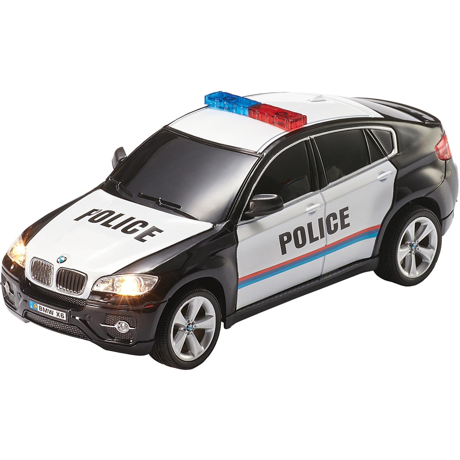 BMW X6 Police Coche, Radiocontrol