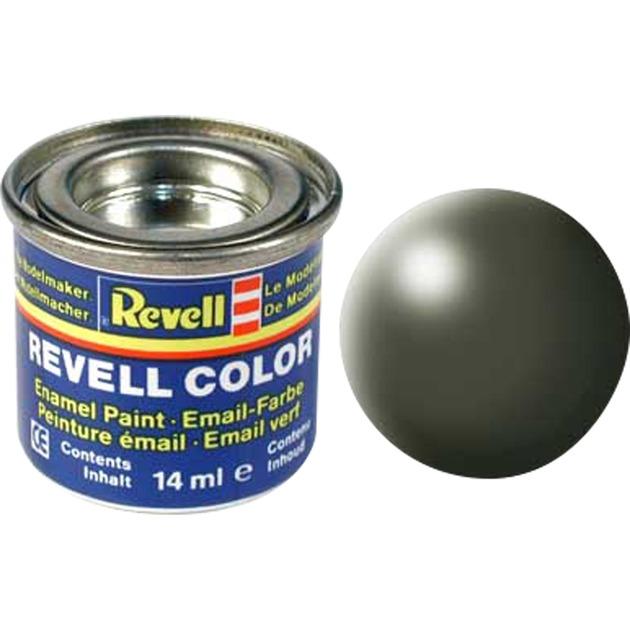 Olive green, silk RAL 6003 14 ml-tin Pintura, Color