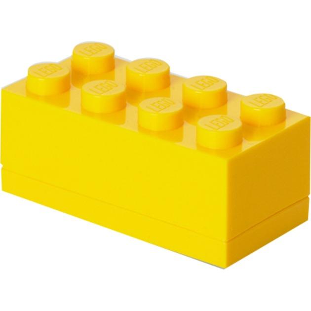 4012 Lunch container Amarillo Polipropileno (PP) 1 pieza(s), Caja de depósito