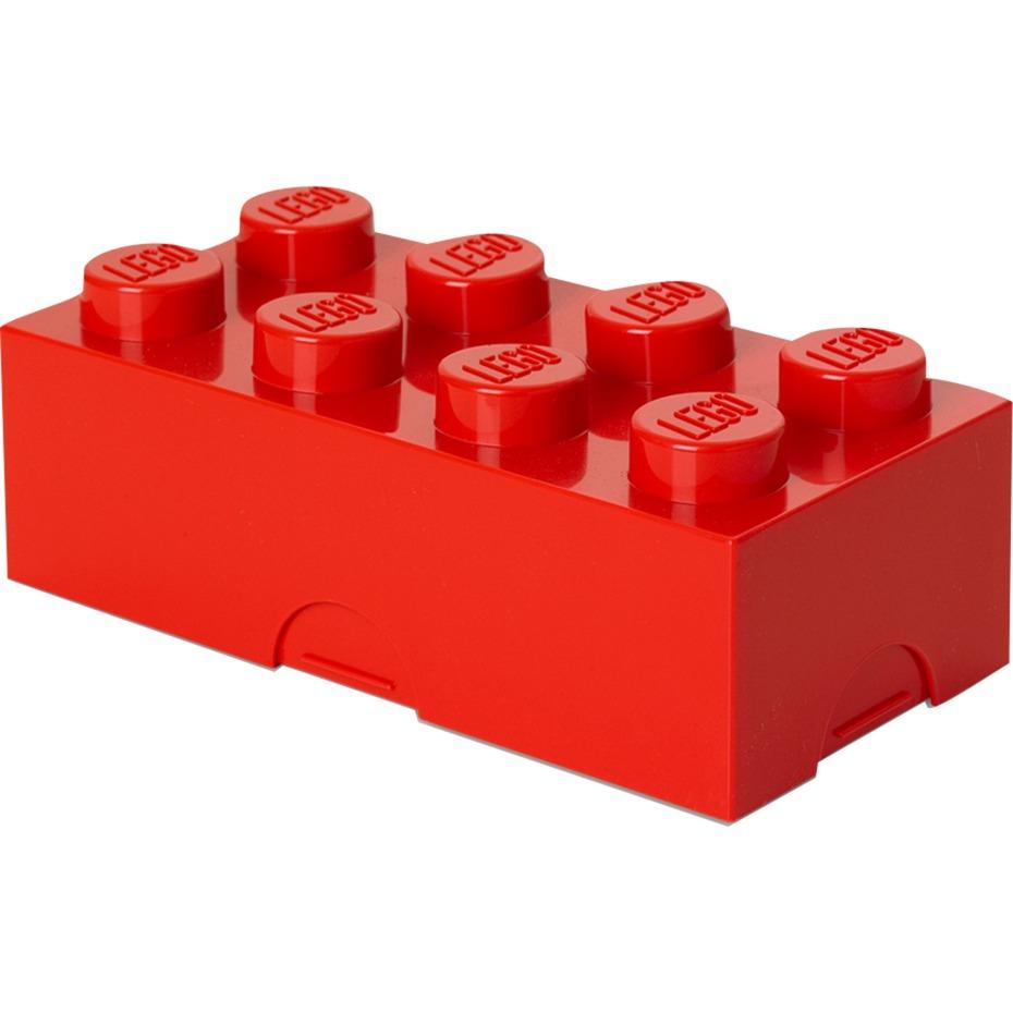 4023 Lunch container Polipropileno (PP) Rojo 1pieza(s), Caja de depósito