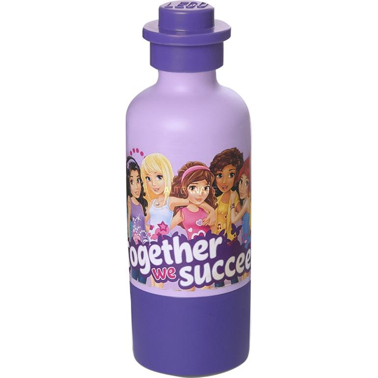 4055 bidón de agua 375 ml Púrpura, Violeta, Botella de agua