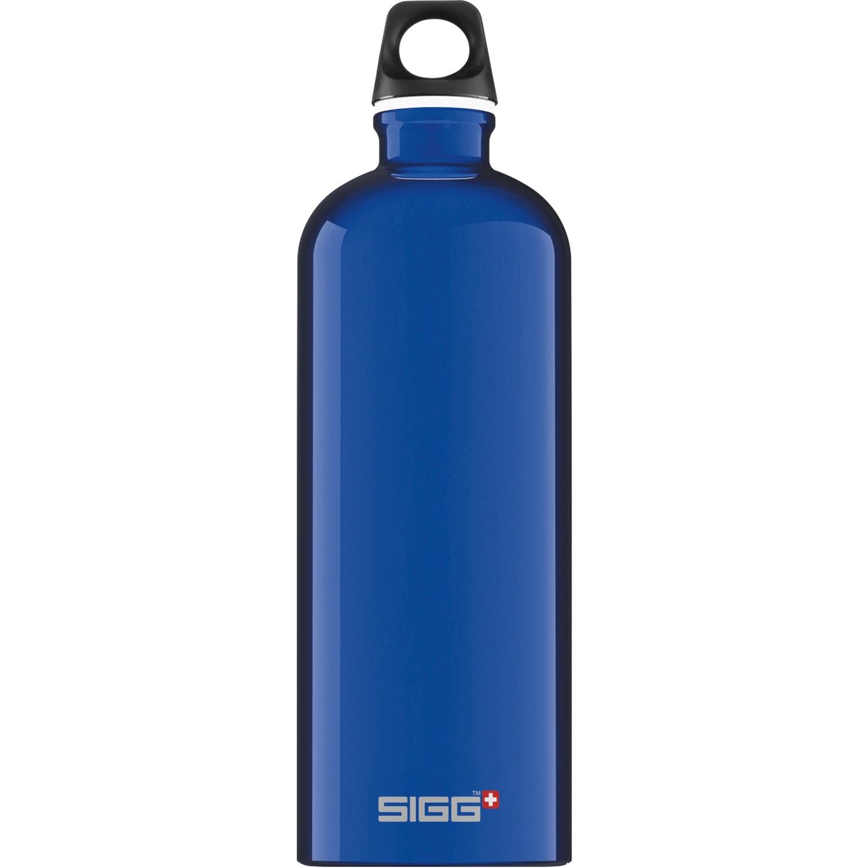1.0 L Traveller bidón de agua 1000 ml Azul, Botella de agua