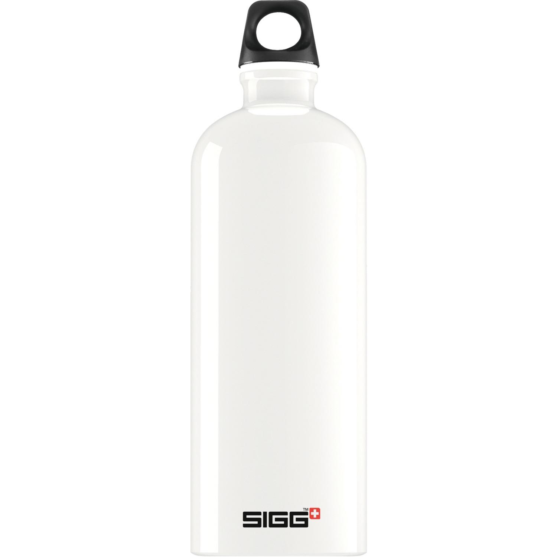 1.0 L Traveller bidón de agua 1000 ml Blanco, Botella de agua